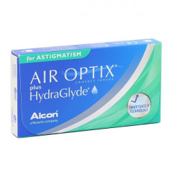 торические линзы Air Optix plus Hydraglyde for Astigmatism (3шт.)