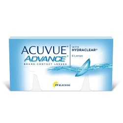 линзы Acuvue Advance with Hydraclear (6 шт)