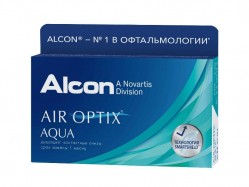 контактные линзы AIR OPTIX Aqua 6 линз