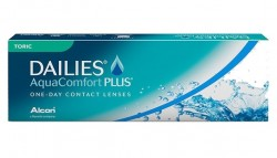 Dailies (Alcon) AquaComfort PLUS Toric (30 линз)