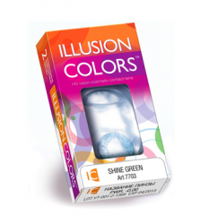 цветные линзы Belmore Illusion Colors Shine (2 линзы)